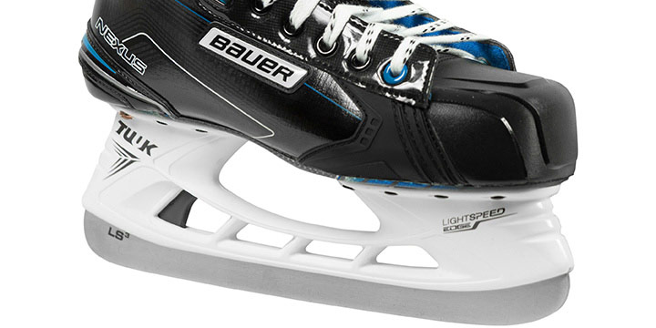 Player's can change their steel in seconds with the Bauer LS3 steel. Bauer Nexus 2N Hockey Skates Are Available July 13, 2018 At Your Local Source For Sports Elite Hockey Store.