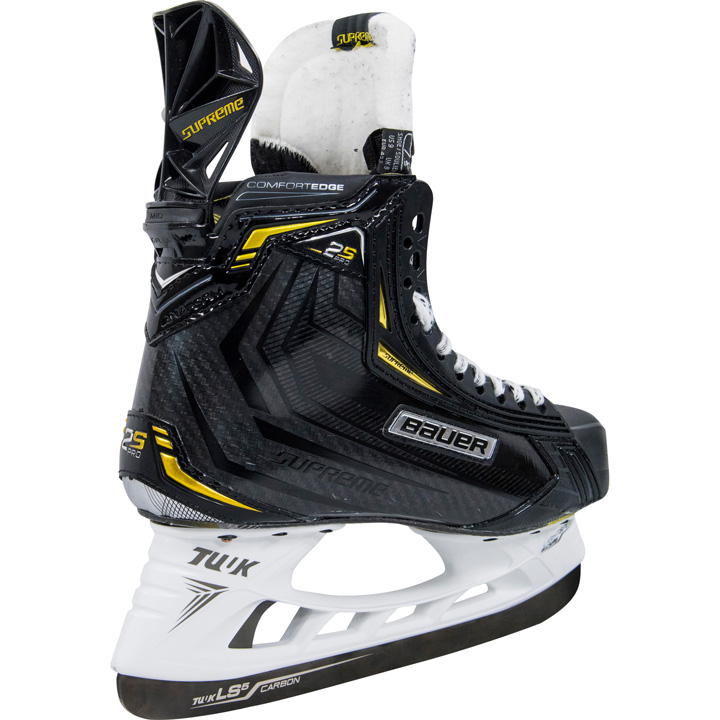 Bauer Supreme 2S Pro Hockey Skates are available at your local Source For Sports elite hockey stores July 13, 2018.