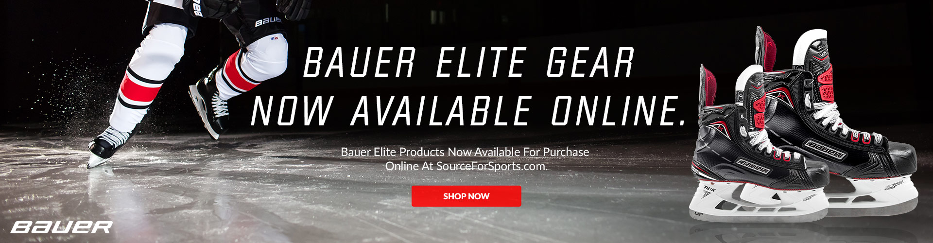 Bauer Elite Products Now Available For Purchase Online At SourceForSports.com.