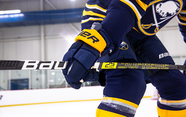 Bauer Supreme 2S Pro Hockey Stick, Jack Eichel | Source For Sports
