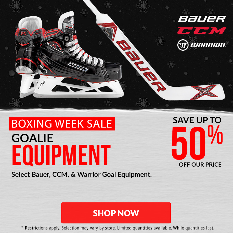 Save Up To 50% Off Hockey Hockey Equipment