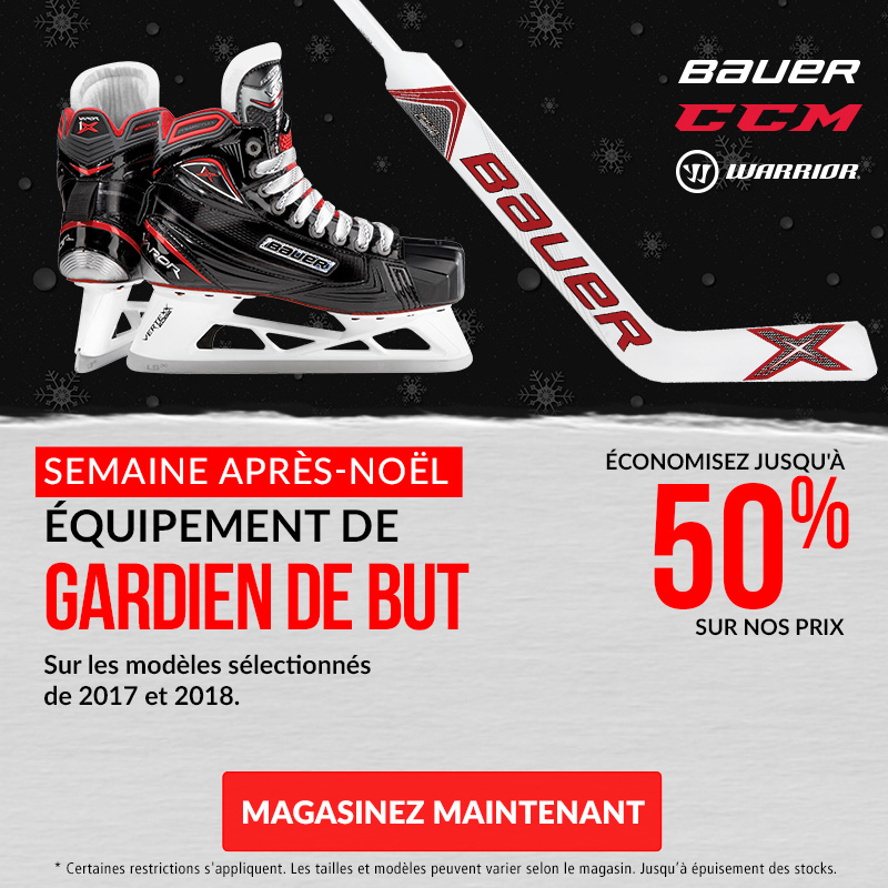 Save Up To 50% Off Hockey Goalie Equipment