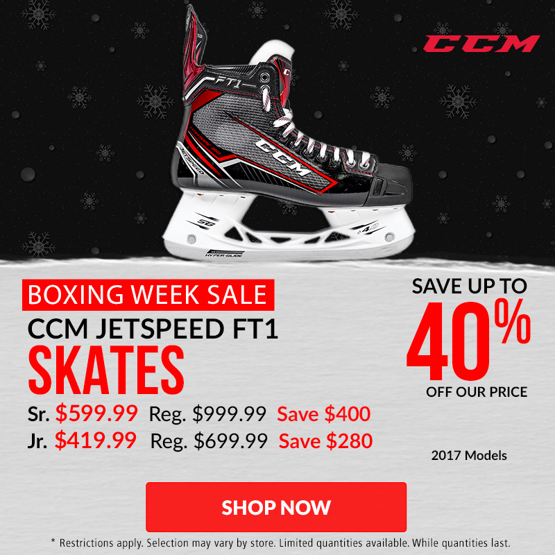 Save Up To 40% Off CCM JetSpeed FT1 Skates