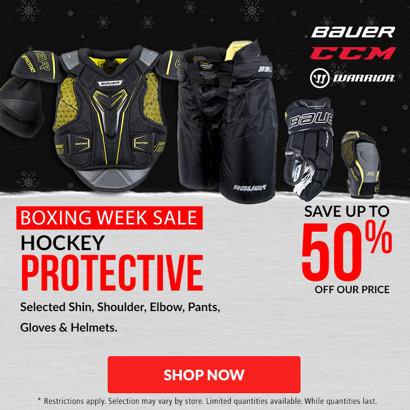Save Up To 50% Off Hockey Protective Equipment