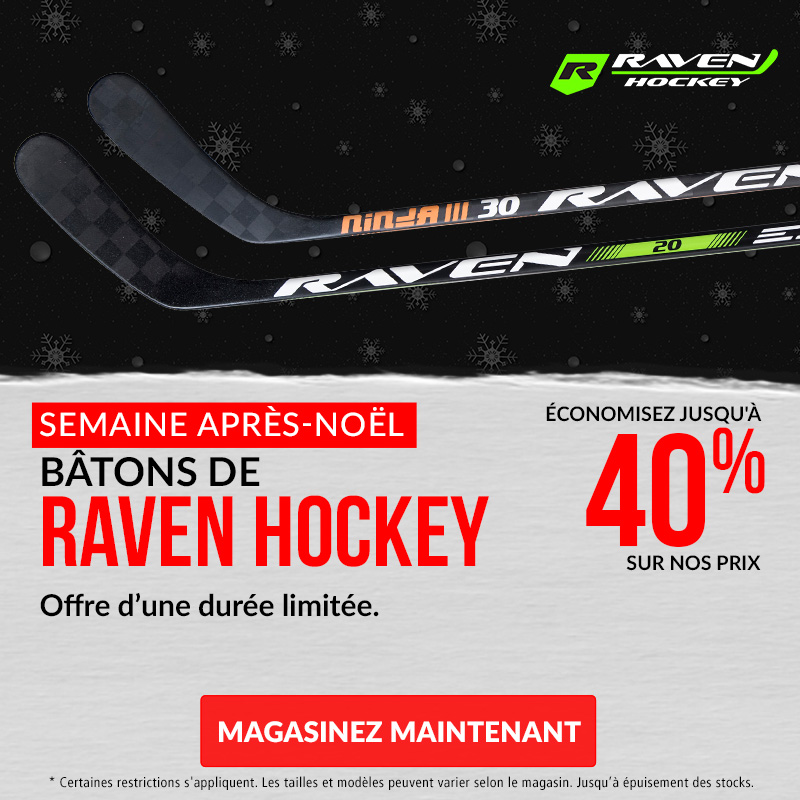 Save Up To 40% Off Raven Hockey Sticks