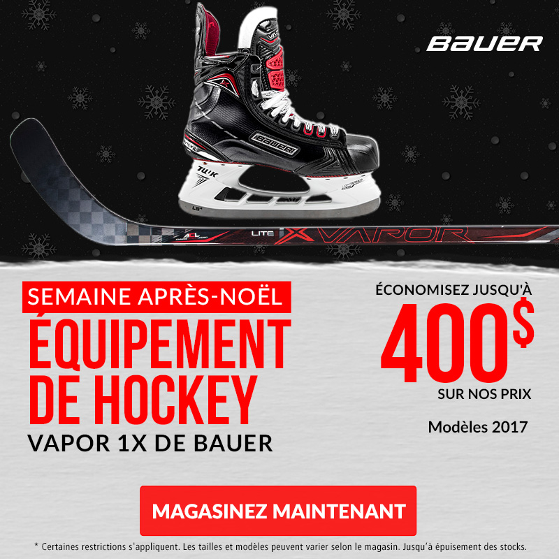 Save Up To 40% Off Bauer Vapor 1X Skates