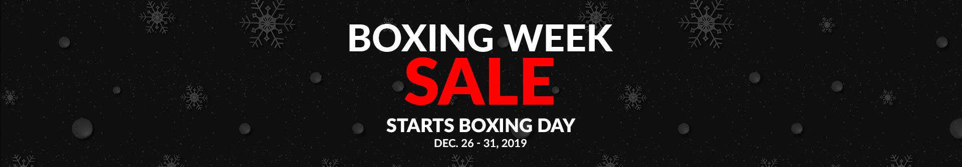 Boxing Week Sale Starts December 26, 2019 at Source For Sports