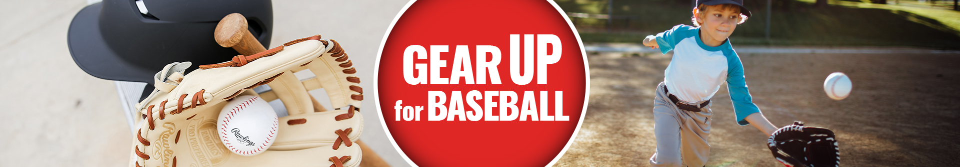 Gear Up For Spring  With Rawlings Shop Their New Selection Of Encore & R9 Gloves, Heart Of The Hide Gloves, Pro Select Gloves, Big Stick Bats, Velo Bats, Mach & Coolflo Helmets & Much More Available For Sale At Your Local Source For Sports Baseball & Softball Stores Near You.