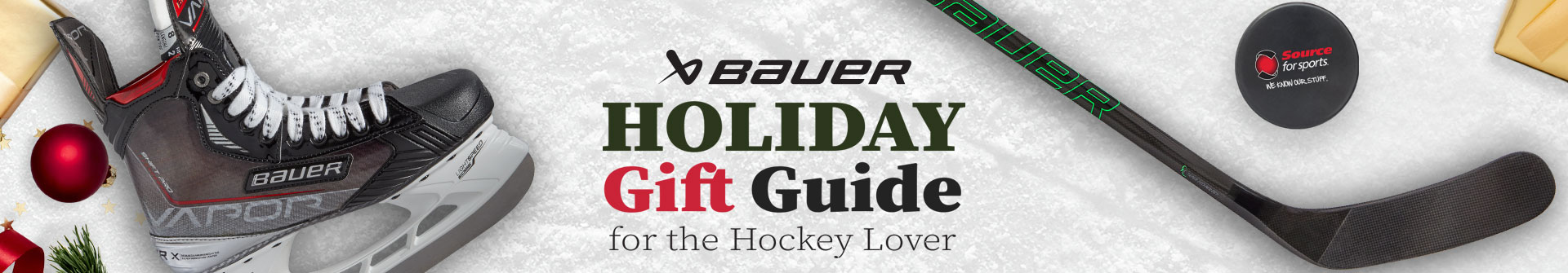 Shop Bauer Hockey Gift Ideas At Source For Sports Hockey Stores Near You.