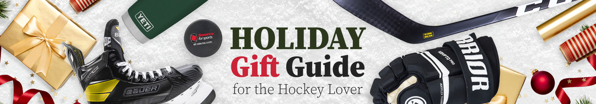 Shop Our Hockey Gift Guides & Discover Christmas Gift Ideas At Source For Sports Hockey Stores Near You.