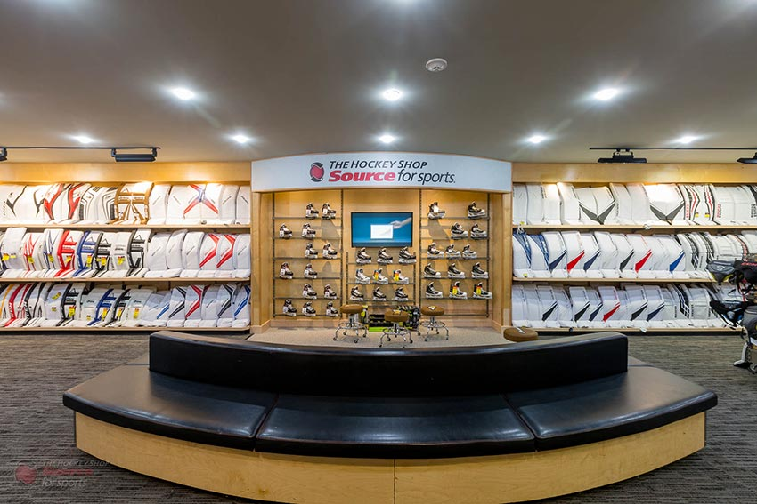 The Hockey Shop Source For Sports, Check out our Goalie Basement dedicated to everything goalie. Find your next set of pads, blocker, trappers, mask, and protective at great prices with the best experience