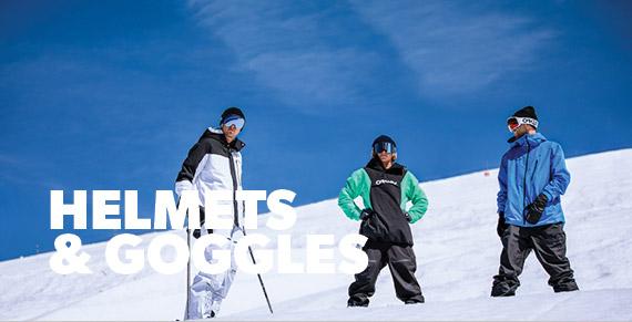 Ski Helmets & Goggles