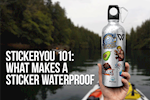 StickerYou 101: What Makes A Sticker Waterproof