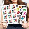 Custom Die-Cut Sticker Pages | Canada 1