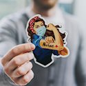 Custom Die-Cut Sticker Singles | Europe 1