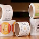 Custom Eco-Safe Paper Roll Labels | Top Quality 2