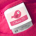 Stick-On Clothing Tag Labels 2