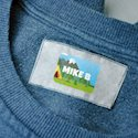 Stick-On Clothing Tag Labels 4