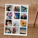Custom Personalized Instagram Photo Stickers 1