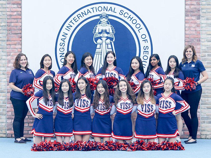 2018 Cheer Team